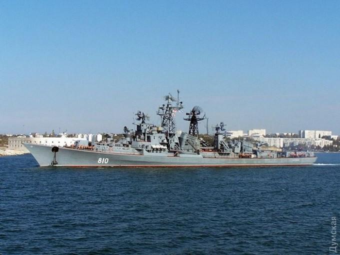 Бойові кораблі Росії помітили під Одесою (1)