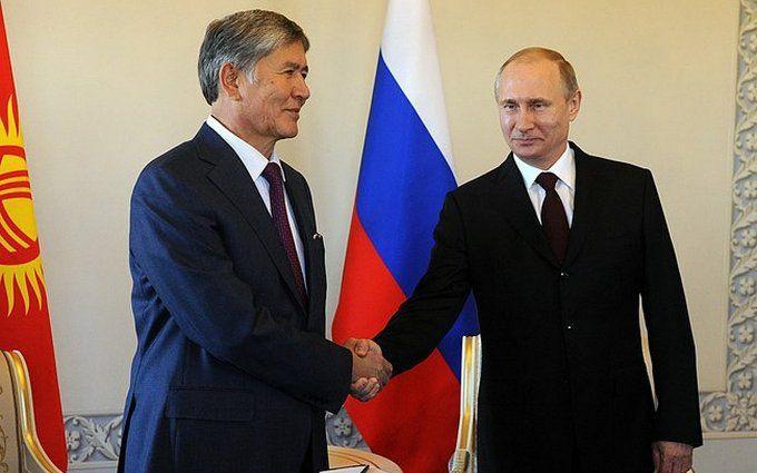 Обнімашки Путіна в Киргизстані насмішили соцмережі: опубліковані фото