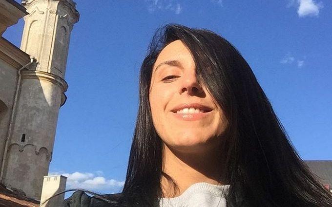 Джамала прогулялась по Вильнюсу перед концертом: опубликованы фото и видео
