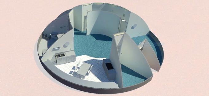3D-дома для астронавтов: в NASA показали, какое жилье построят на Марсе (5)
