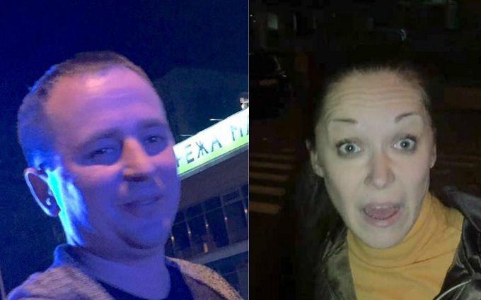 У Києві п'яний водій з кумою влаштували цирк: з'явилися фото і відео