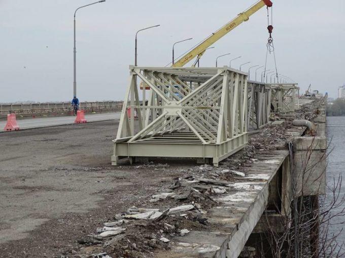 Майже чверть млрд грн сягнув кошторис капремонту Центрального мосту у Дніпрі