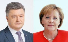 Переговоры Порошенко и Меркель - появились первые подробности