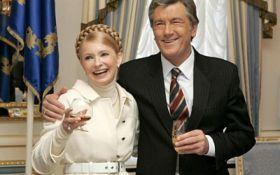 Стало известно, как Ющенко и Тимошенко когда-то помирились на выставке