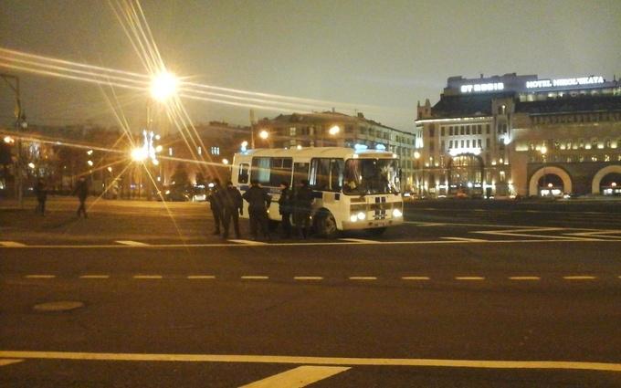 В Москве задержали участников акции в поддержку Савченко: опубликовано фото