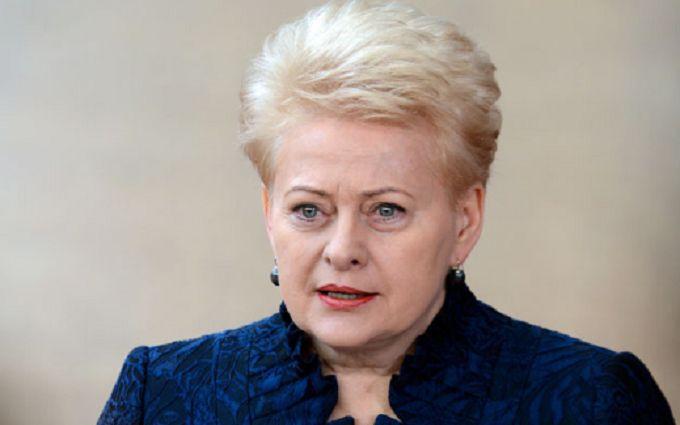 """""""Ми отримуємо персональні погрози від Кремля"""": Грибаускайте шокувала неочікуваним зізнанням"""