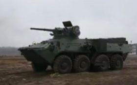 Украинцам показали мощное видео новой боевой техники