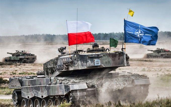 США перебрасывают танки в Польшу и страны Балтии