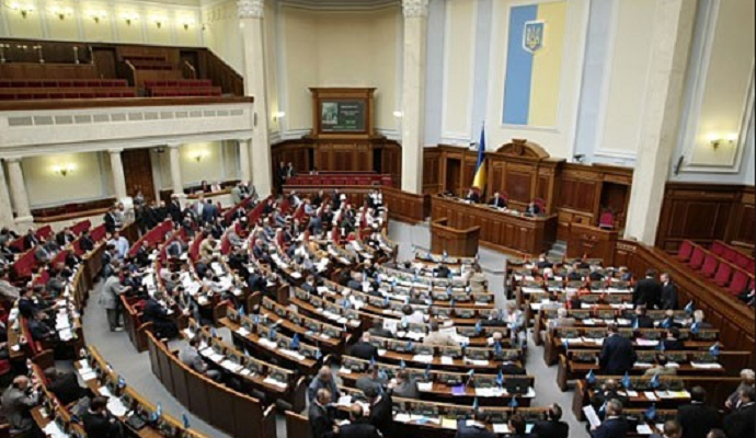 Рада отказалась рассматривать закон о выборах народных депутатов