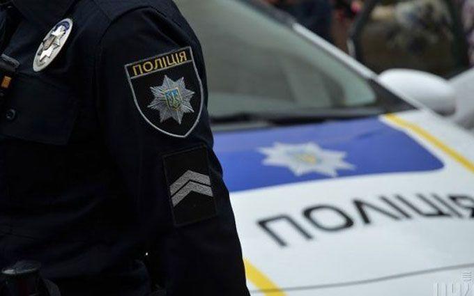 Напад на поліцейського в Києві: з'явилося відео з місця подій
