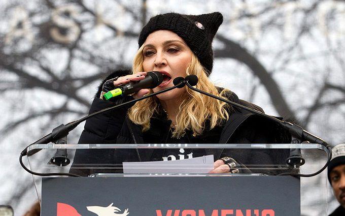 Акции против Трампа: млн. участников и«послание» Мадонны, размещены фото ивидео