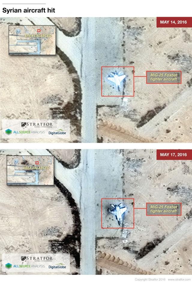 ІДІЛ знищив частину російської авіації в Сирії: фото з супутника (4)