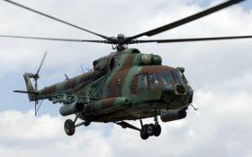 В Чечне разбился военный вертолет, много жертв