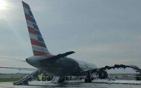 Моторошна пожежа в американському літаку: в мережі з'явилося драматичне відео