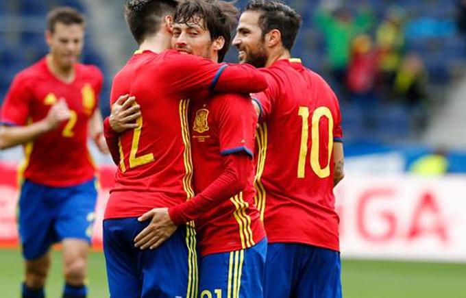 Іспанія здобула феєричну перемогу, готуючись до Євро-2016: опубліковано відео