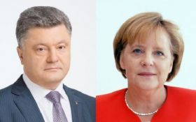 Переговори Порошенко і Меркель - з'явилися перші подробиці