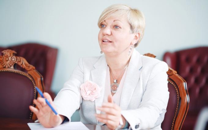"Гонтарева похвалилася боротьбою з ""каламутними"" банками"