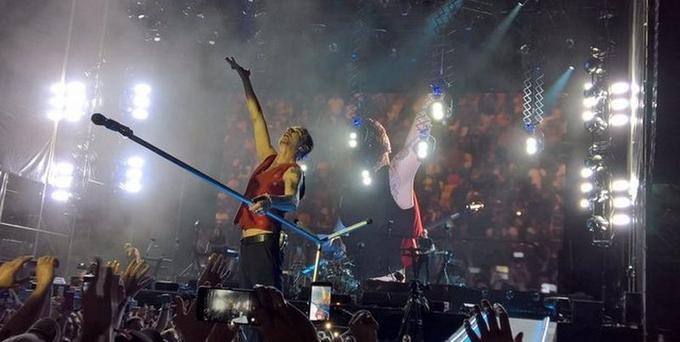 Концерт Depeche Mode в Киеве: появились фото и видео (2)