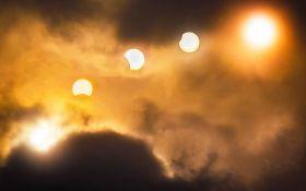 Как прошло полное солнечное затмение 2020 года - завораживающие фото огненного кольца