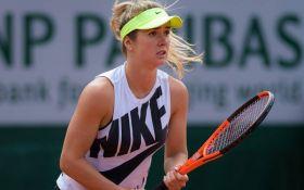 Свитолина уверенно стартовала на Roland Garros