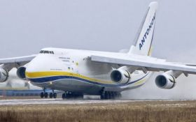 Украинский самолет-гигант попал в американский сериал