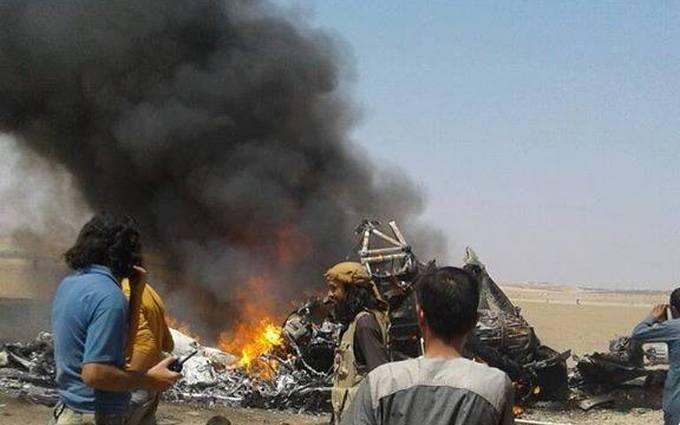 Збитий в Сирії російський вертоліт: соцмережі спіймали людей Путіна на брехні