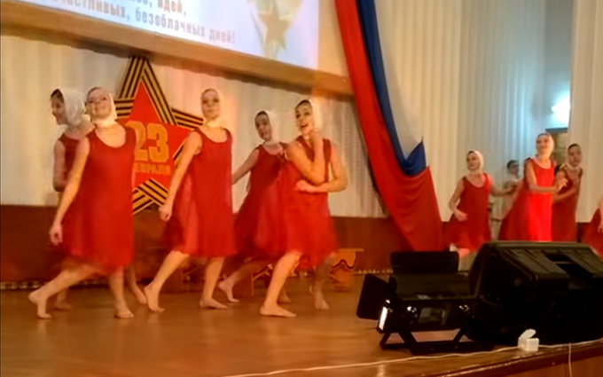 """Сеть поразил """"патриотический"""" танец в Крыму: появилось видео"""