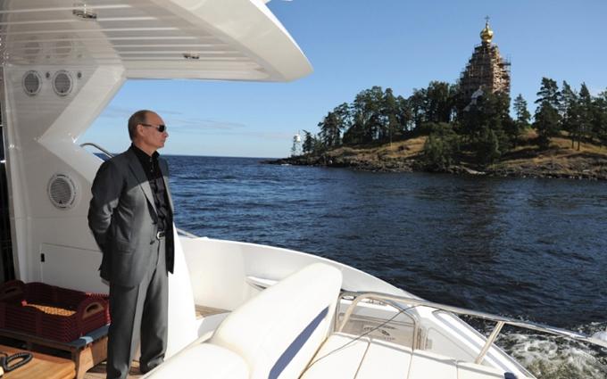Путіна знашли в несподіваному місці