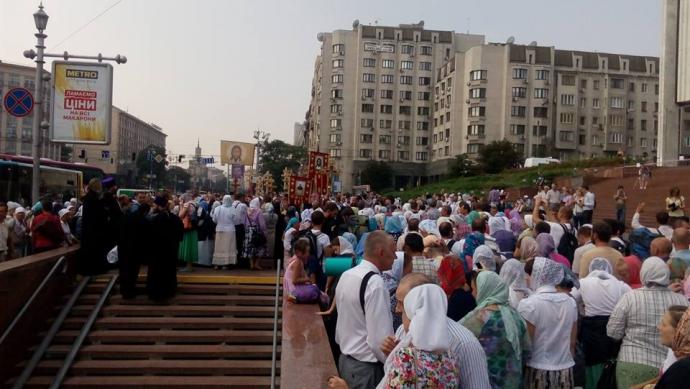Крестный ход в Киеве: все подробности, фото и видео (16)