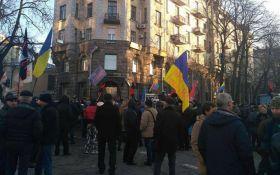Стычки в центре Киева: появились фото, видео и новые подробности