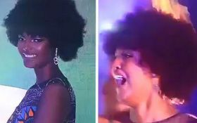 """Мисс Африка-2018"" внезапно загорелась на сцене: видео жуткого курьеза на конкурсе красоты"