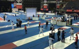 Украинцы бесславно выступили в мужской сабле на чемпионате мира