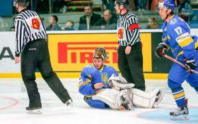 Сборная Украины проиграла решающую битву на Чемпионате мира по хоккею в Киеве