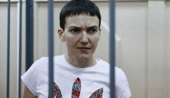 Украина требует немедленного освобождения Савченко