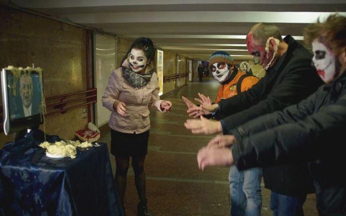 В Минске зомби помолились пропагандисту Путина: опубликованы яркие фото