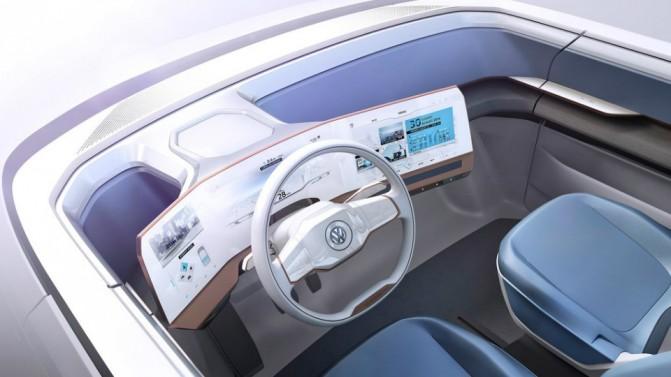 Volkswagen представила концепт электрического микроавтобуса Budd-e (5 фото, видео) (3)