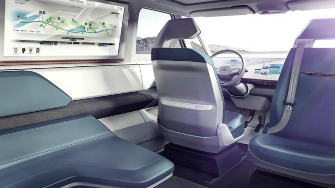 Volkswagen представила концепт электрического микроавтобуса Budd-e (5 фото, видео) (4)