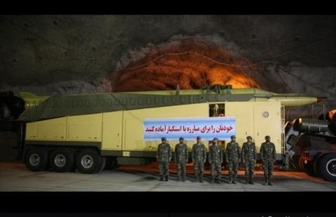 В Ірані показали підземну ракетну базу на глибині 500 метрів (5 фото) (2)