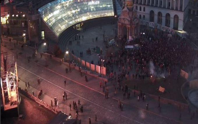 """""""Новый Майдан"""" поймали на малочисленности: появились фото"""