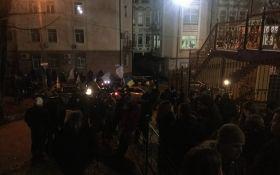 Справа Насірова: з'явилися нові фото і відео пікету в Києві