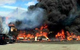 В США разбился реактивный самолет, есть жертвы появились фото с места аварии
