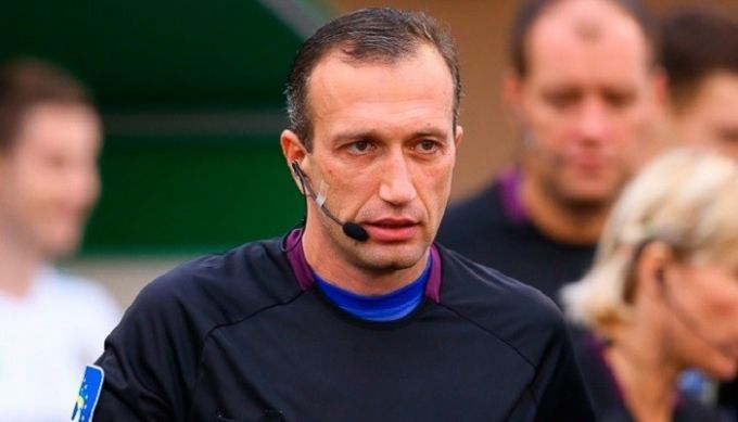 Футбольный арбитр, который попал вбазу Миротворца, завершил карьеру