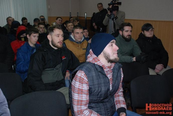 В Николаеве сорвали пропагандистскую акцию партии Медведчука: появились фото (7)