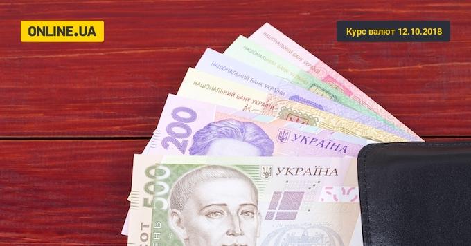 Курс валют на сьогодні 12 жовтня: долар подешевшав, евро дорожчає