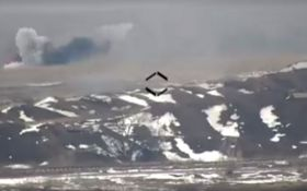 Силы АТО с одного выстрела уничтожили вражескую БМП: появилось видео