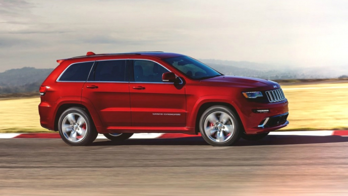 717-сильний Jeep Grand Cherokee Trackhawk з'явиться в 2017 році