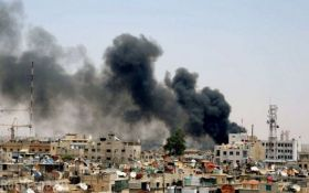 Вблизи аэропорта Дамаска прогремел мощный взрыв: появилось видео