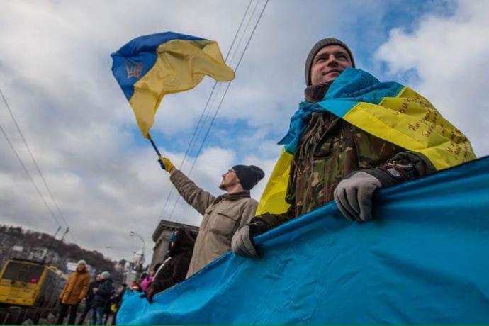 День соборности в Киеве: появились яркие фото (4)