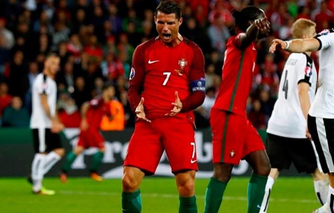 Кріштіану Роналду психонув перед вирішальним матчем Євро-2016: опубліковано відео