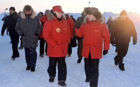 Новый преемник? На фото с Путиным в Арктике увидели интересный момент